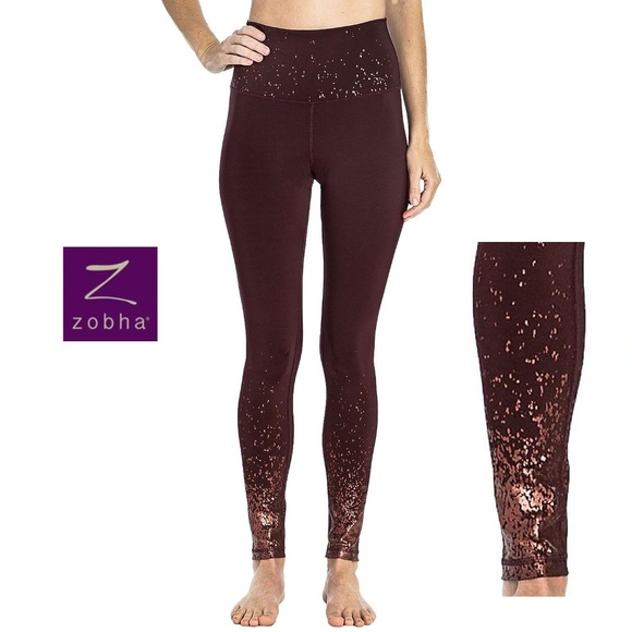 Zobha Pants - *FLASH SALE* Zobha BNWT Metallic Leggings
